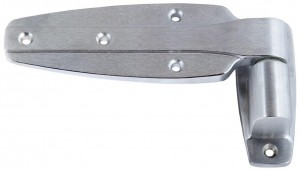 Hinge Brushed Chrome OS-1-3/8 1245  *11245000120*